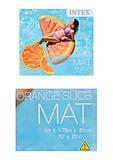 Матрас в форме дольки апельсина, 58763, купити