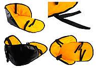 Теплый матрасик для санок , желтый, , отзывы