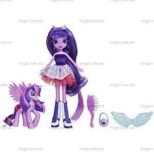 Кукла-пони с подружкой-пони «Май Литл Пони. Девочки Эквестерии», A3996, фото