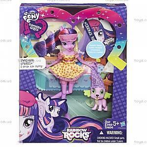 Кукла со зверюшкой «Девочки Эквестрии», B1070, купить
