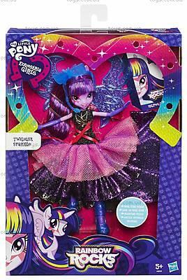 Май Литл Пони Девочки Эквестрии «Супермодница Твайлайт Спаркл», A8059, фото
