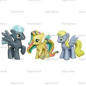 Мини-набор Май Литл Пони «Пони с новыми персонажами», A0266, купить