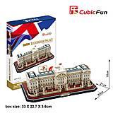 Трехмерная головоломка-конструктор «Букингемский дворец», MC162h, фото