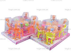 Праздничный стол с куколками, A8-55, toys.com.ua