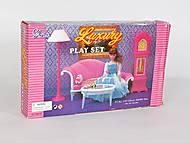 Кукольная мебель Gloria «Люкс», 96010, отзывы