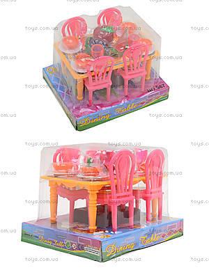 Набор игрушечной мебели «Столовая», 967