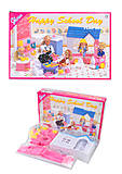 Игровой набор мебели Gloria «Детский сад», 9877, детские игрушки