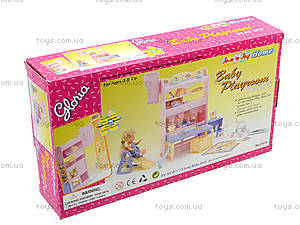 Игровой набор мебели Gloria «Детская», 21019, отзывы
