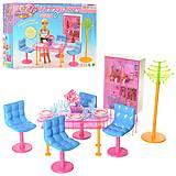 """Мебель """"Gloria"""" для гостиной со столом, стульями, посудой, 2912"""