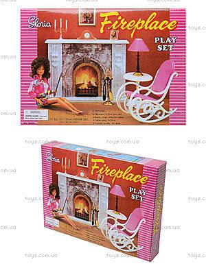 Кукольная мебель Gloria «Камин», 96006