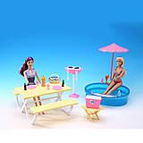 """Мебель """"Gloria"""" с бассейном для кукол 29 см, 1679, купить"""