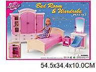 Мебель Gloria «Спальня и гардероб», 24014, игрушка