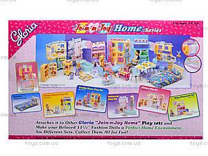 Кукольная мебель «Спальня», 2314, купить