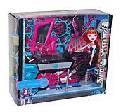 Мебель с куклой «Monster High (Школа МХ)», MH8910G, интернет магазин22 игрушки Украина