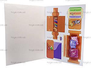 Книга «Мебель для куклы: Детская», А320002Р, игрушки