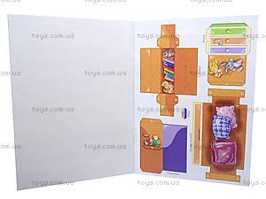 Книжка «Мебель для куклы: Детская», А16922У, цена