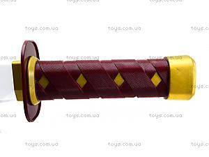 Игрушечный меч «Черепашки-ниндзя» со звуковыми эффектами, 09240, фото