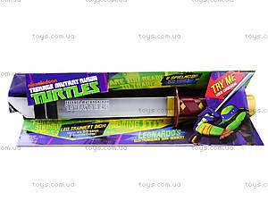 Игрушечный меч «Черепашки-ниндзя» со звуковыми эффектами, 09240, цена