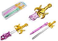Меч серебристый с золотистой ручкой, 581А, купить