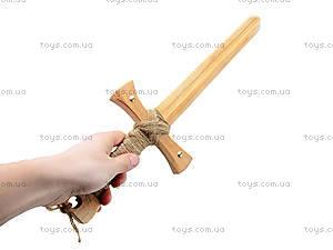 Детский деревянный меч «Английский», 171844, фото