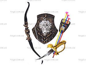 Меч и лук, с щитом, 6108-2A/3A