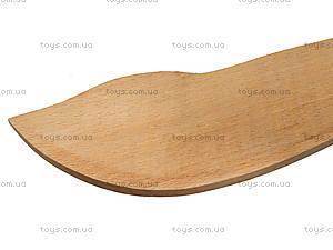 Меч деревянный короткий, 35 см, 238-08-06, отзывы