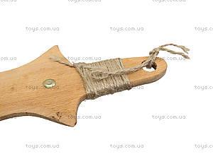 Меч деревянный короткий, 35 см, 238-08-06, цена