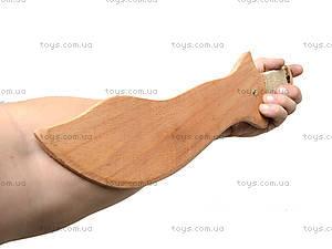 Деревянный меч 35 см, короткий, 238-08-06у, фото