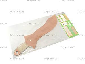 Деревянный меч 35 см, короткий, 238-08-06у, отзывы