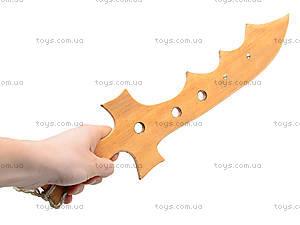 Деревянный меч «Крокодил», 40 см, 141-024у, купить