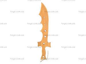 Деревянный меч «Крокодил», 40 см, 141-024у, отзывы