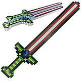 """Меч """"Майнкрафт"""" со светом и звуком (разноцветный), PR1553, детские игрушки"""