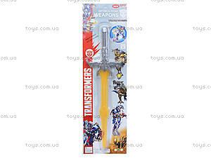 Игрушечный меч для детей «Воитель», 929-01