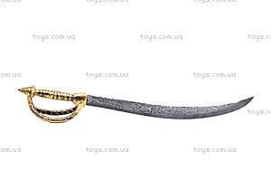 Игрушечный меч пирата с медальоном, JM5617D, фото