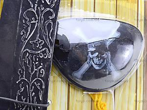 Игрушечный меч пирата с медальоном, JM5617D, отзывы