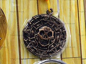 Игрушечный меч пирата с медальоном, JM5617D, магазин игрушек