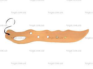 Деревянный меч с закрытой рукояткой, 141-013, отзывы