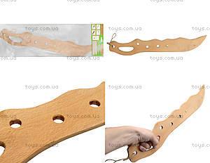 Детский деревянный меч, 141-013у