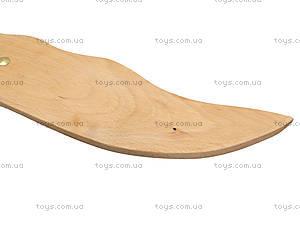 Детский деревянный меч, 141-013у, игрушки