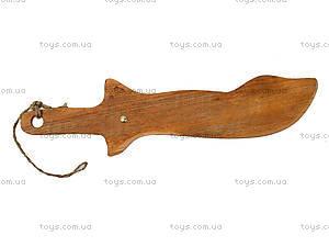 Деревянный меч для детей, 238-01-015, отзывы