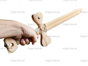 Деревянное оружие «Меч средневековый», 171839у, фото