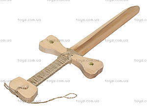Деревянный меч «Средневековый», буковый, 171840у, цена