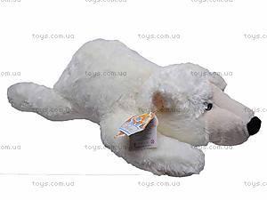 Медведь белый мягкий, К106ВР