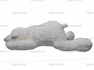 Медведь белый мягкий, К106ВР, фото