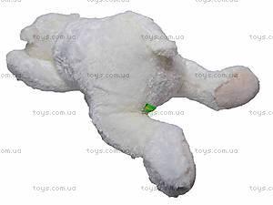 Медведь белый мягкий, К106ВР, отзывы