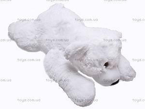 Медведь белый с бантиком, 4130, купить