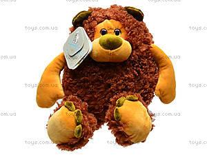 Плюшевый медведь «Фауст», К381В, отзывы
