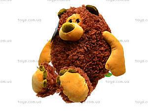 Плюшевый медведь «Фауст», К381В, игрушки