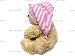 Медведь музыкальный, с подушкой, XJ61069, купить
