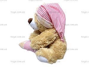 Медведь музыкальный, с подушкой, XJ61069, фото
